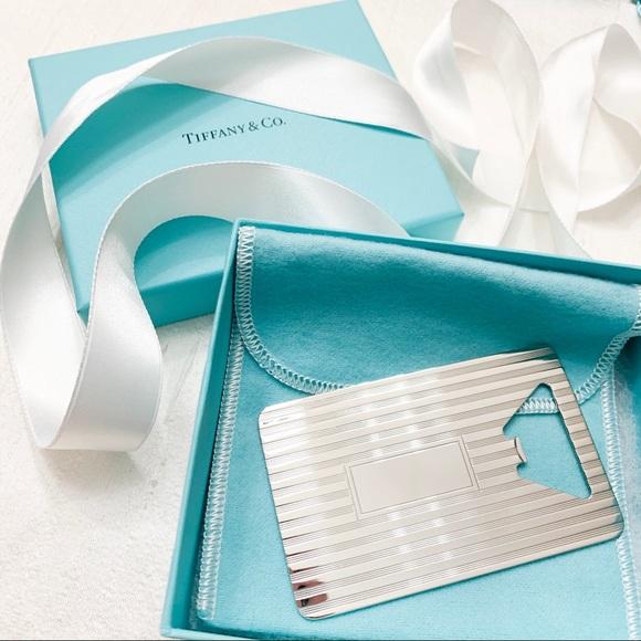 Tiffany & Co. Other - Tiffany & Co. Engine Turned Bottle Opener